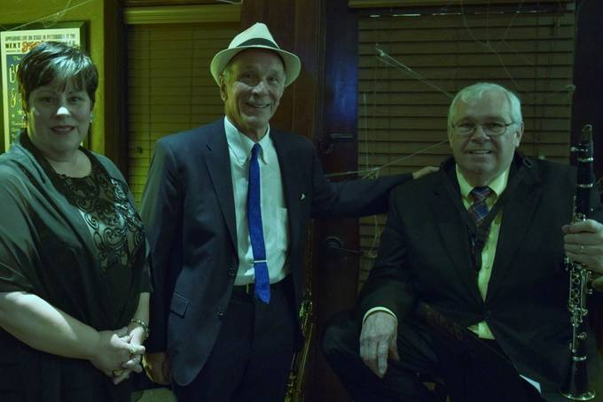 This trio has performed in an around Harrison, Arkansas recently,  Sandra Guidry sings,  Pete Stefano plays piano and Paul McBride plays clarinet and saxophone.