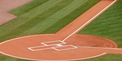 Baseball's Home Plate Background