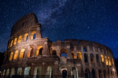 Stars over Rome