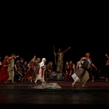 This is from a musical performed by members of a LDS (Mormon) Stake at the LDS Church's Conference Center Theater.  Though it is set in ancient times, it reminds me of what's happening politically today.