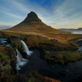 Morning light at kirkjufell, Iceland
