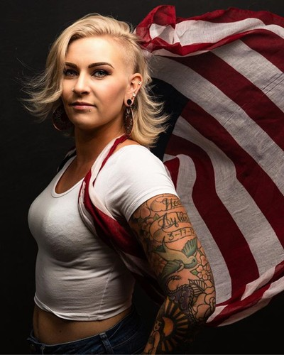 Tomorrow is Independence Day! No fireworks for us this year. Colorado is in a firestorm. Please be safe and responsible. NO Fireworks! Think of the families around you.  #portrait_perfection #tattoogirls #tattoogirlsdoitbetter #starsandstripes #4thofjuly
