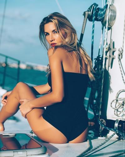 Sylvia on Boat