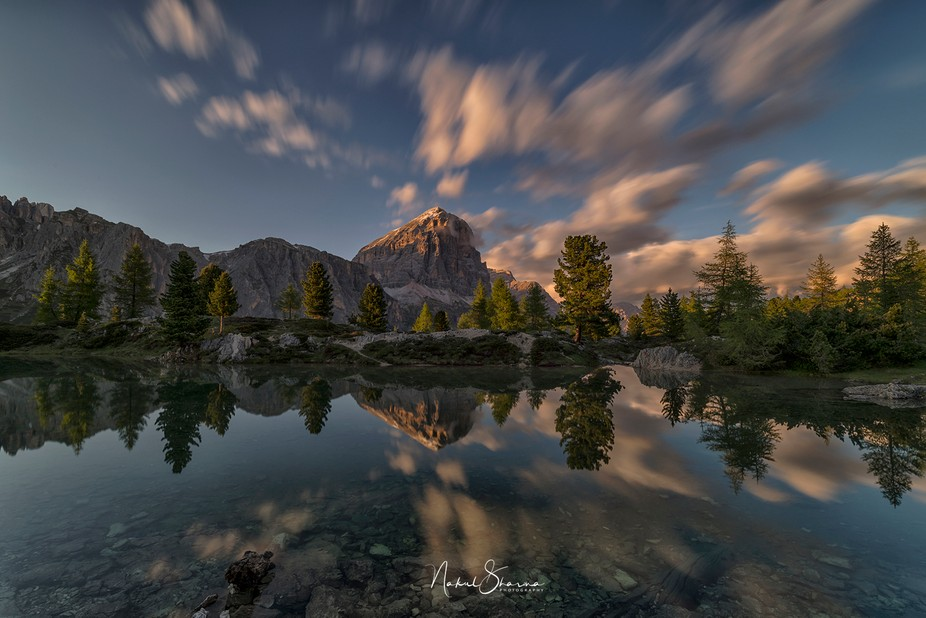 """Its called """" A pearl in DOLOMITES"""" me and my friend federico went to this lake..."""