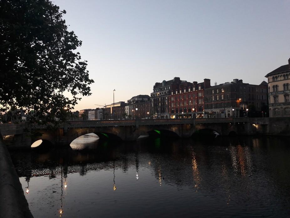 Early summer morning Dublin