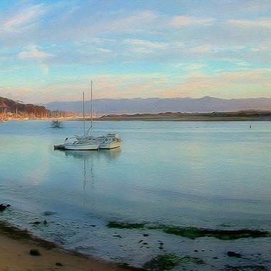 Morro Bay coast line