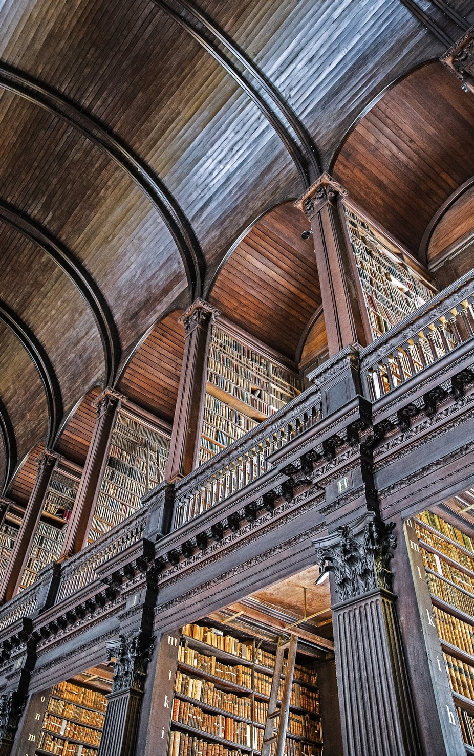 Trinity College Library by jimstennette - Ceilings Photo Contest