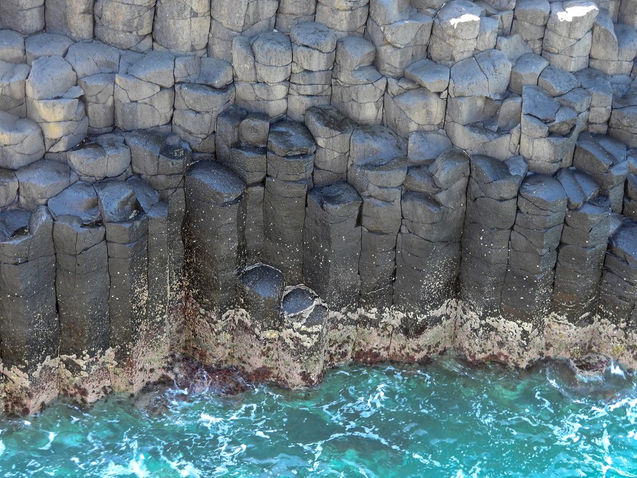 Columnar Basalt is both asymmetrically efficient and aesthetically pleasing to the eye which is u...