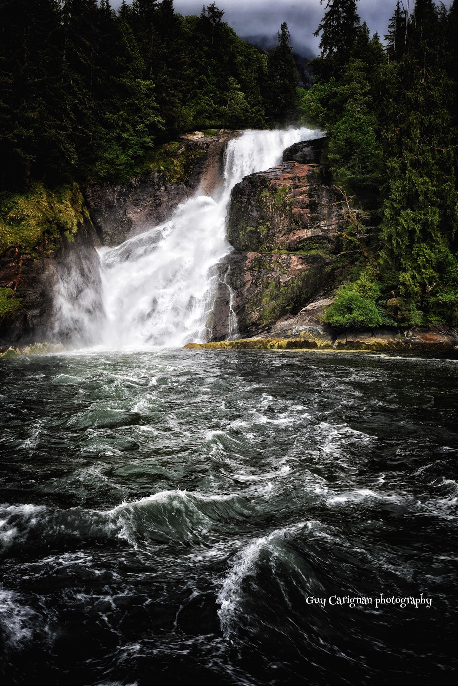 Water Fall  by Thatsguy - Image Of The Month Photo Contest Vol 35