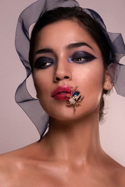 Gorgeous Model Rabia after little beauty retouching