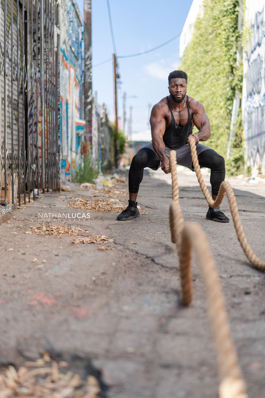 Battle ropes!  by nathanlucas - Health And Fitness Photo Contest