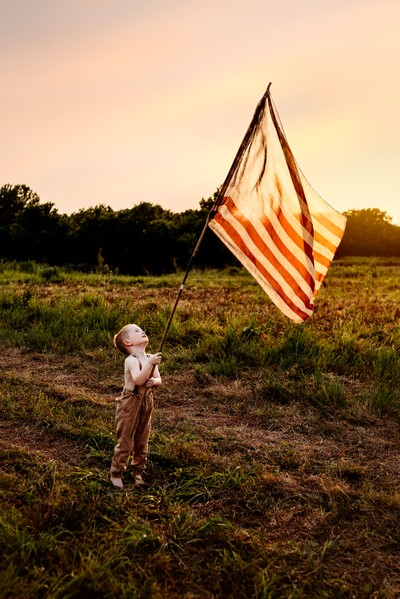 American, young and Proud
