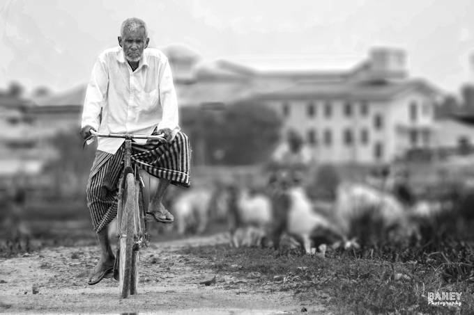 Ride by AbdullahAlBahey - Our World In Black And White Photo Contest