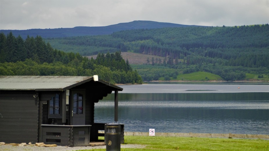 We took a wrong turning a Kielder, but I spotted this beautiful view, too stunning not to share.
