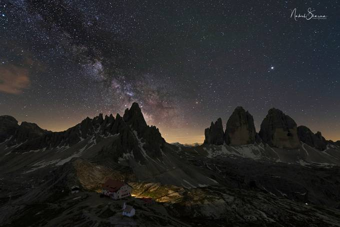 dolomites dream shot by nakul - The Night And The Mountains Photo Contest