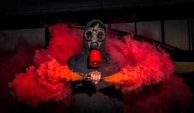 Fun Width A Smoke Grenade