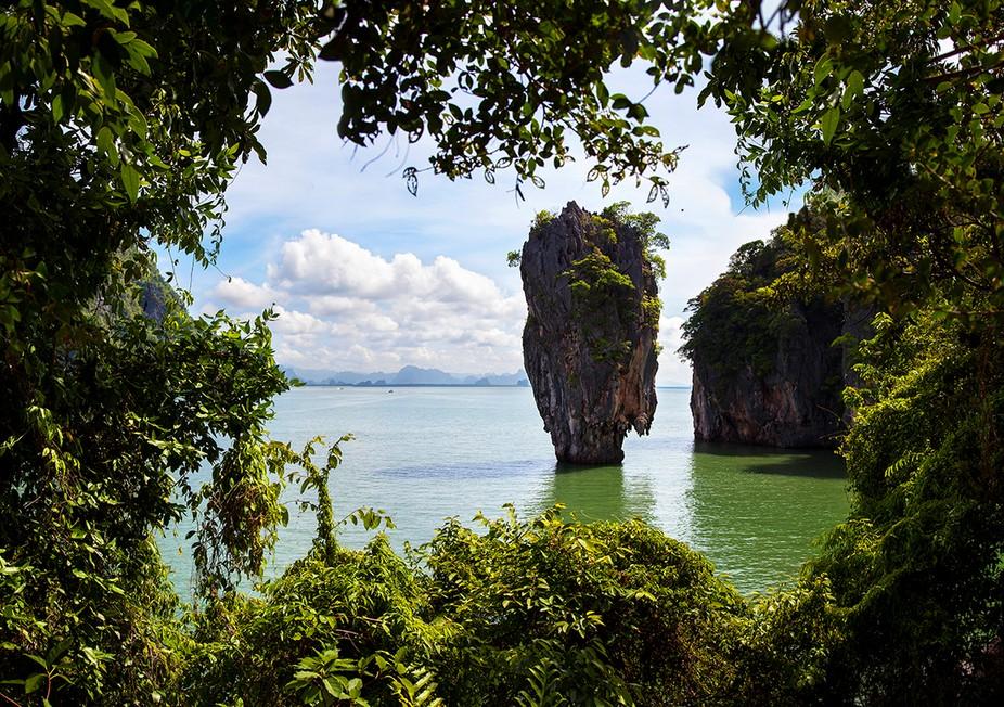 James Bond Island, Phang Nga Bay, Thailand.