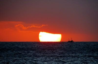 North Sealand. Sunrise.