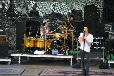 Incubus Performing Live