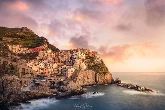 manarola cinque terre by HamedShahnam - Covers Photo Contest Vol 48