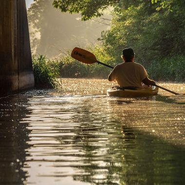 It was a kayak morning!