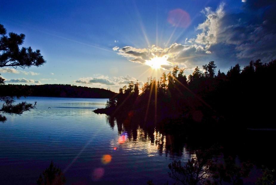 Lawrence Lake Sunset