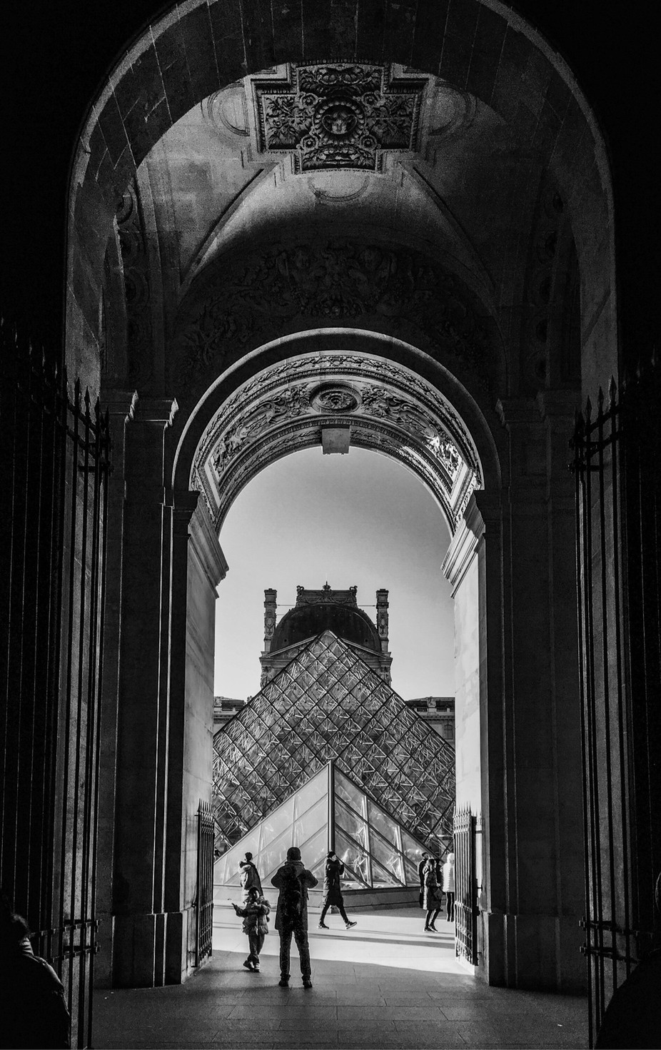 Louvre's mystery by christianredermayer - Paris Photo Contest