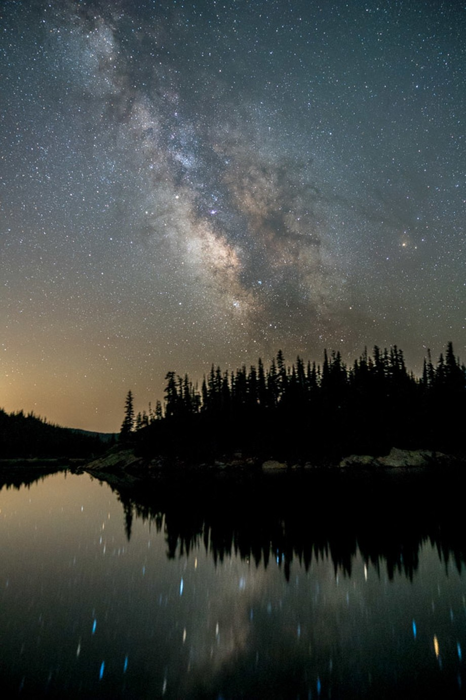 Milky Way Reflections by susanelizabethb - Capture The Milky Way Photo Contest