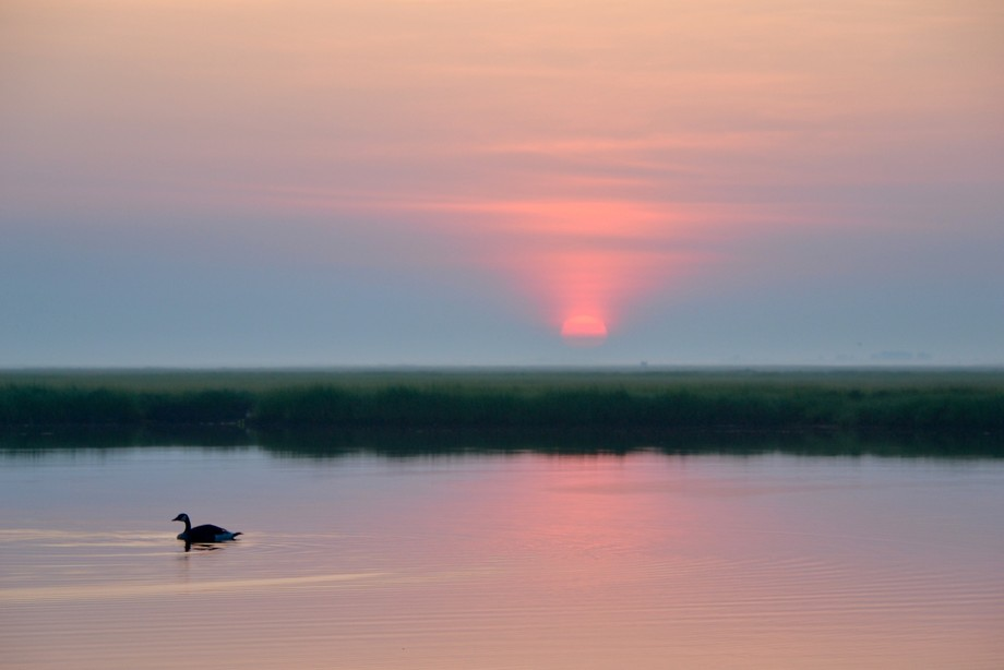 Sunrise on the Great South Bay