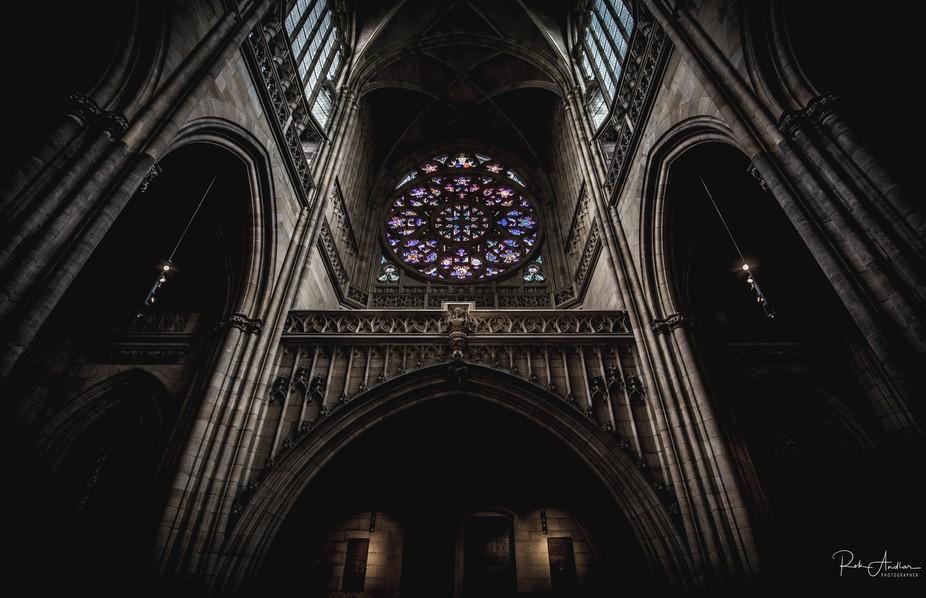 St.Vitus cathedral Prague