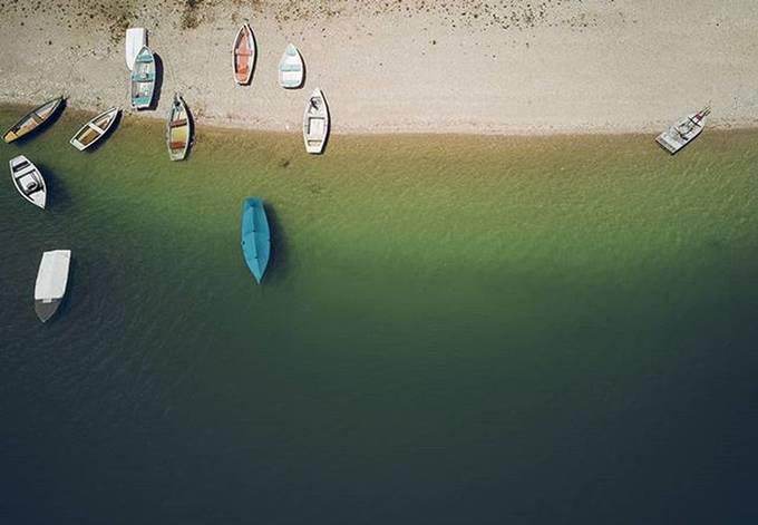 Karwendel VI: Above the boats by martinrosenkranz - I Love Boats Photo Contest