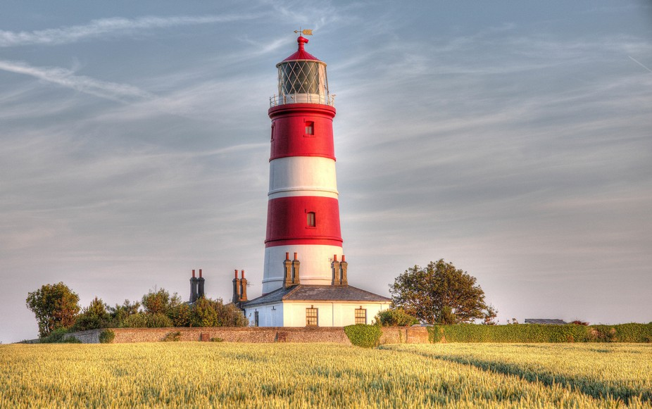 Freshly painted, Happisburgh Lighthouse, Norfolk