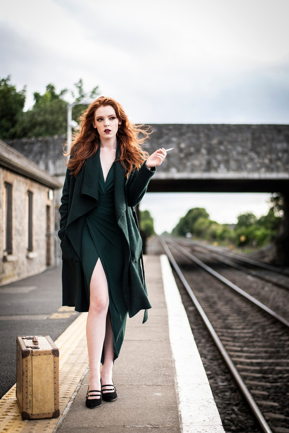 Waiting at the Station by PaulMaxwell23 - Image Of The Month Photo Contest Vol 35