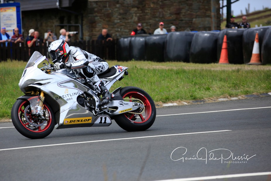 Josh Brookes (Australia) racing the VR4 Norton at the TT Senior Race, Isle of Man, 2018