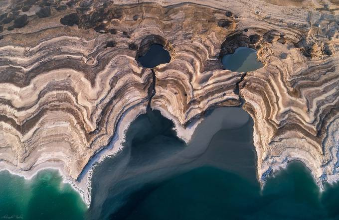 The Ghost of the Dead Sea by alextaubin - Stunning POV Photo Contest