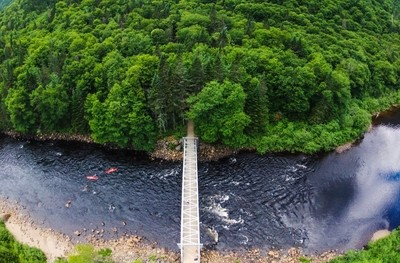 Canoing from Above