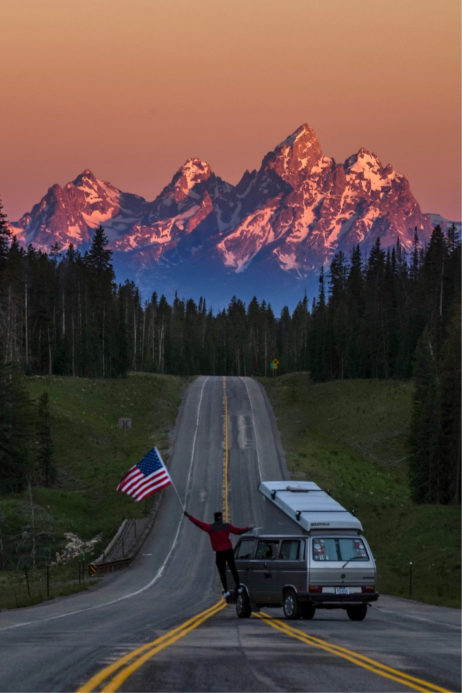 4th of just with purple mountains majesty by nicksgym - Flags and Banners Photo Contest