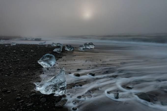 Diamond Beach by iamcordz - Winter Long Exposures Photo Contest