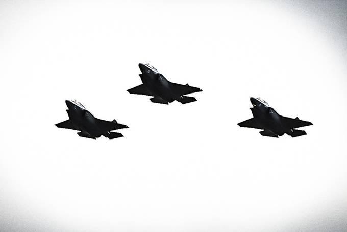 RAF flypast