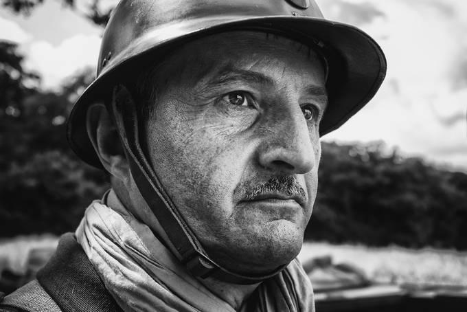 Ligne Maginot, Huberbusch, reenactment WW2