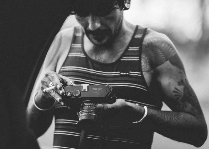 Roadside Cigarette by josephnancephoto - Our World In Black And White Photo Contest
