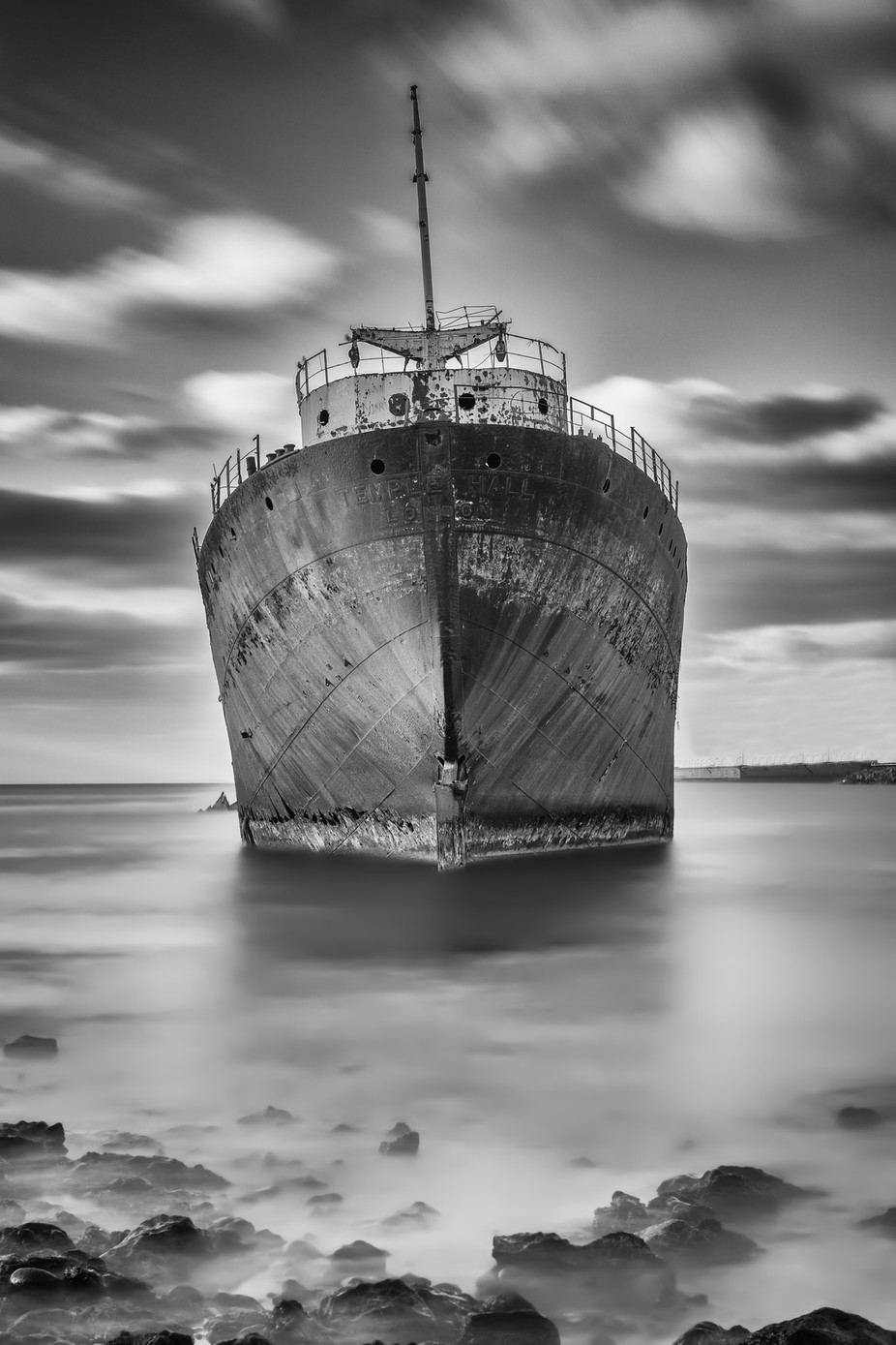 Legacy of the Telamon by jonbarkeruk - Our World In Black And White Photo Contest