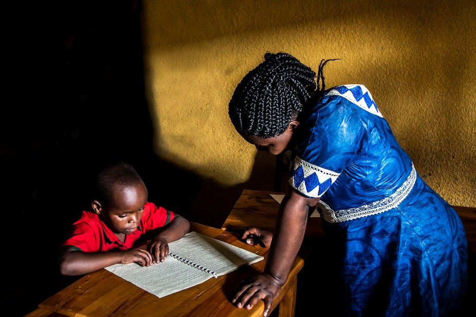 While in Rwanda, I had the opportunity to visit The Blessing School for the Visually Impaired. It...