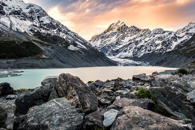 Colorful Evening @Mt Cook