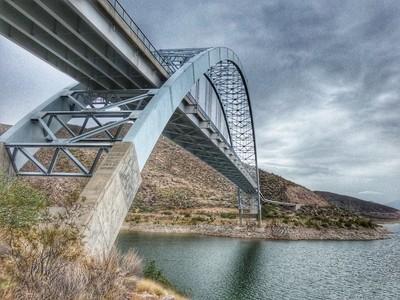 Bridge at Roosevelt Dam