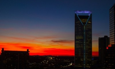 Charlotte Red Skies