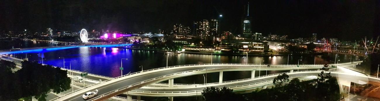 Photo taken looking across the river to Brisbane CBD.
