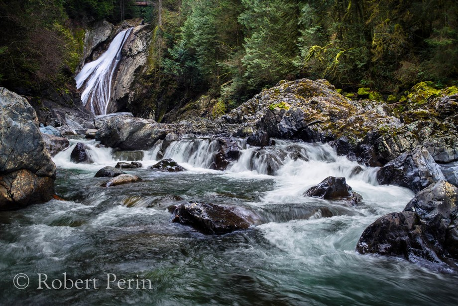 Just Wast of North Bend, WA. is a nice hike to Twin Falls. Located in a Nature Area, it'...