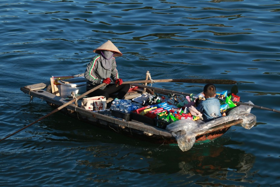Vendor on the Bay