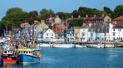 Summer Afternoon Weymouth Harbour Dorset
